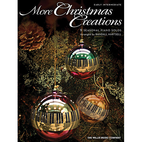 Willis Music More Christmas Creations - Early Intermediate Piano Solo by Randall Hartsell-thumbnail