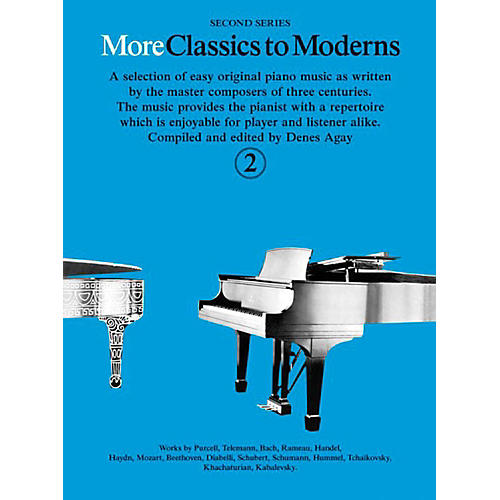 Music Sales More Classics To Moderns - Second Series Book 2-thumbnail