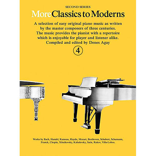 Music Sales More Classics To Moderns - Second Series Book 4-thumbnail