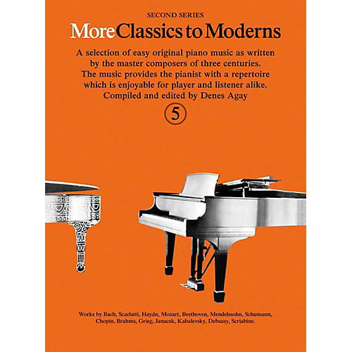 Music Sales More Classics To Moderns - Second Series Book 5-thumbnail