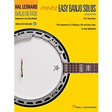 Hal Leonard More Easy Banjo Solos - 2nd Edition (for 5-String Banjo) Banjo Series Softcover Audio Online