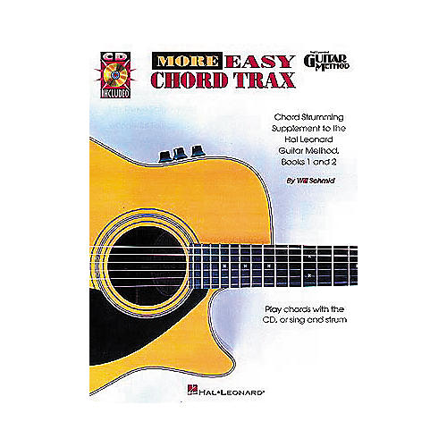 Hal Leonard More Easy Chord Trax Guitar Method (Book/CD)
