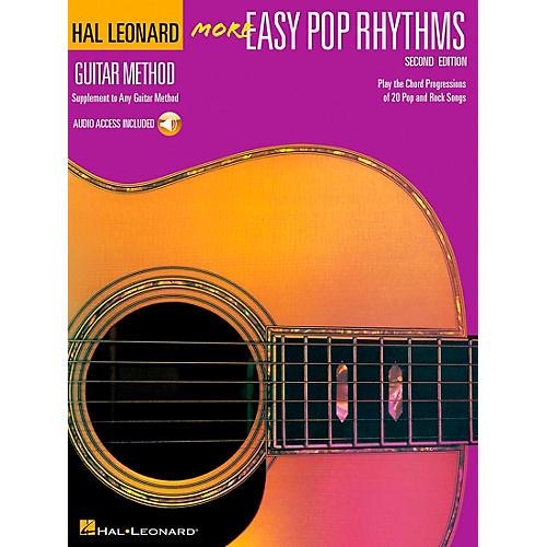 Hal Leonard More Easy Pop Rhythms Guitar Method (Book/CD)-thumbnail