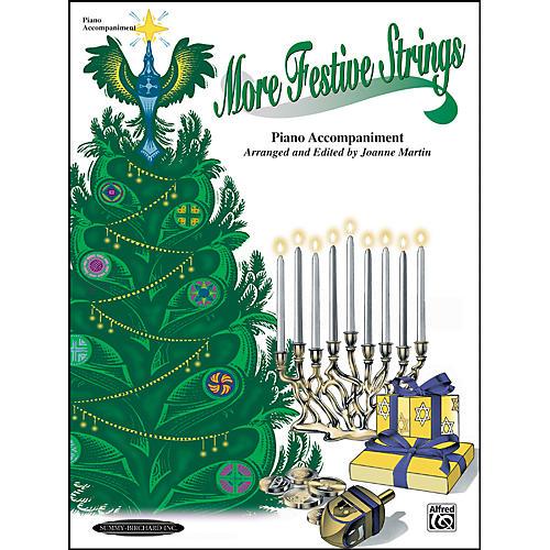 Alfred More Festive Strings Piano Accompaniment (Book)
