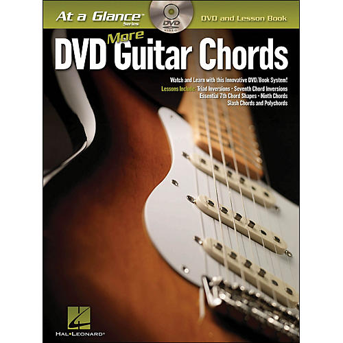 Hal Leonard More Guitar Chords At A Glance Book/Dvd