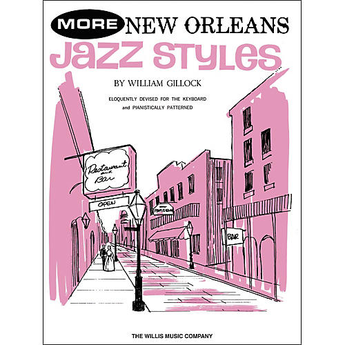 Willis Music More New Orleans Jazz Styles Late Intermediate Piano-thumbnail