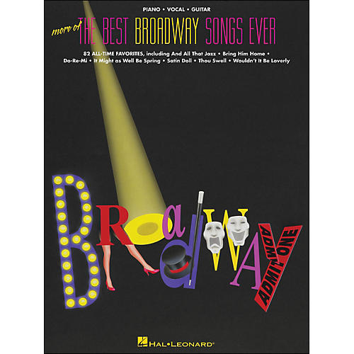 Hal Leonard More Of The Best Broadway Songs Ever arranged for piano, vocal, and guitar (P/V/G)-thumbnail