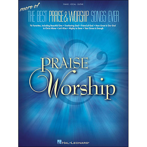 Hal Leonard More Of The Best Praise & Worship Songs Ever arranged for piano, vocal, and guitar (P/V/G)-thumbnail