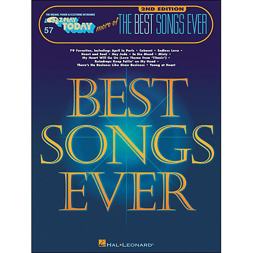 Hal Leonard More Of The Best Songs Ever 2nd Edition E-Z Play 57-thumbnail