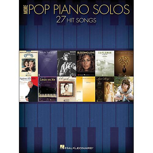 Hal Leonard More Pop Piano Solos