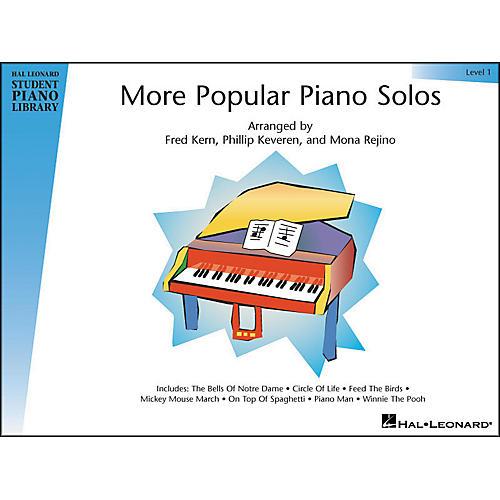 Hal Leonard More Popular Piano Solos Book 1 Hal Leonard Student Piano Library-thumbnail