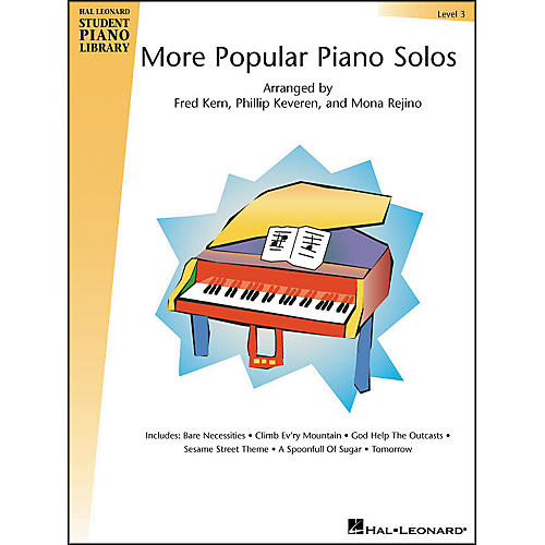 Hal Leonard More Popular Piano Solos Book 3 Hal Leonard Student Piano Library