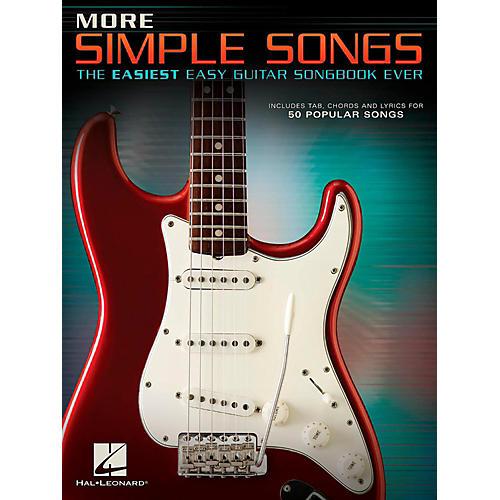 Hal Leonard More Simple Songs - The Easiest Easy Guitar Songbook Ever-thumbnail