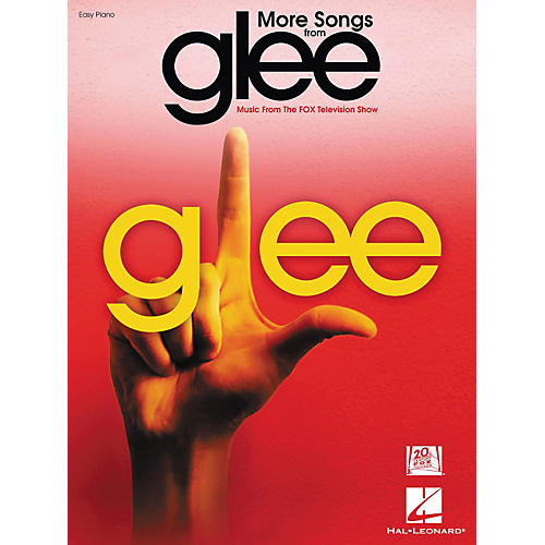 Hal Leonard More Songs From Glee - Music From The Fox Television Show For Easy Piano