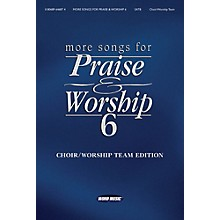 Word Music More Songs for Praise & Worship - Volume 6 for Piano/Vocal/Guitar