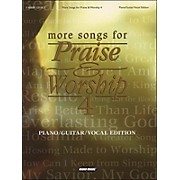 Word Music More Songs for Praise & Worship Vol 4 arranged for piano, vocal, and guitar (P/V/G)