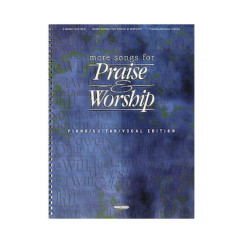 Word Music More Songs for Praise and Worship Book
