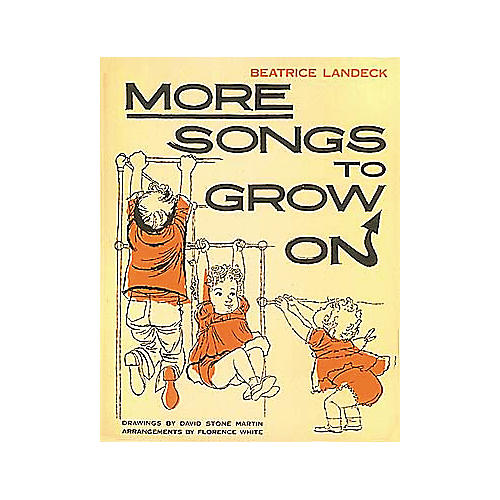 Edward B. Marks Music Company More Songs to Grow On Piano/Vocal/Guitar Songbook