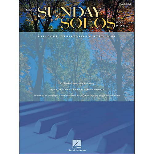 Hal Leonard More Sunday Solos for Piano - Preludes, Offertories & Postludes arranged for piano solo-thumbnail