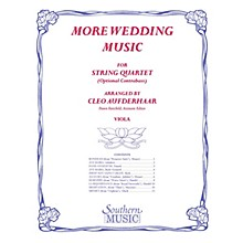 Southern More Wedding Music (Viola Part (from string quartet)) Southern Music Series Arranged by Cleo Aufderhaar