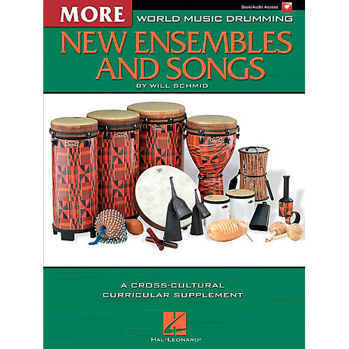 Hal Leonard More World Music Drumming: More New Ensembles and Songs-thumbnail
