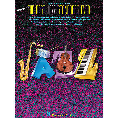 Hal Leonard More of the Best Jazz Standards Ever Songbook-thumbnail