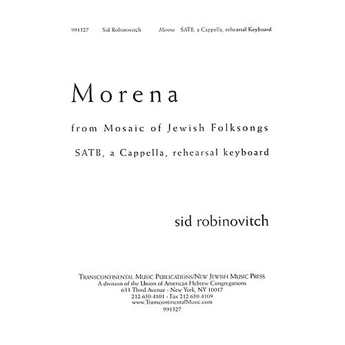 Transcontinental Music Morena SATB composed by Sid Robinovitch