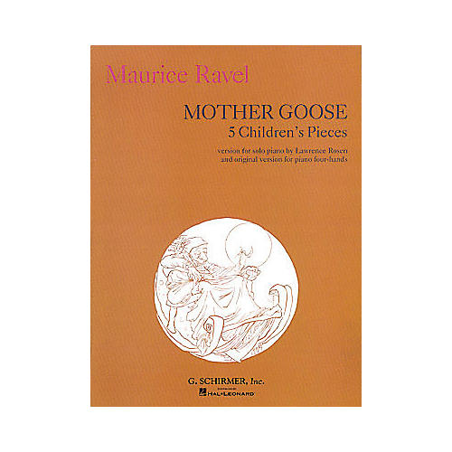 G. Schirmer Mother Goose Suite Piano Solo 5 Children's Pieces Five By Ravel-thumbnail