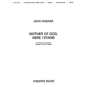 Chester Music Mother of God Here I Stand String Orchestra Music Sales Ame... by Chester Music
