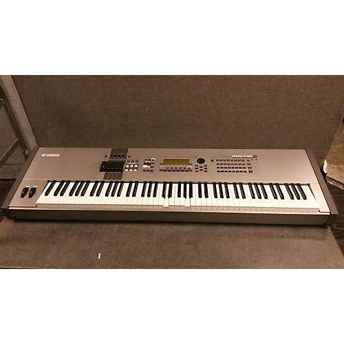 used yamaha motif 8 88 key keyboard workstation guitar
