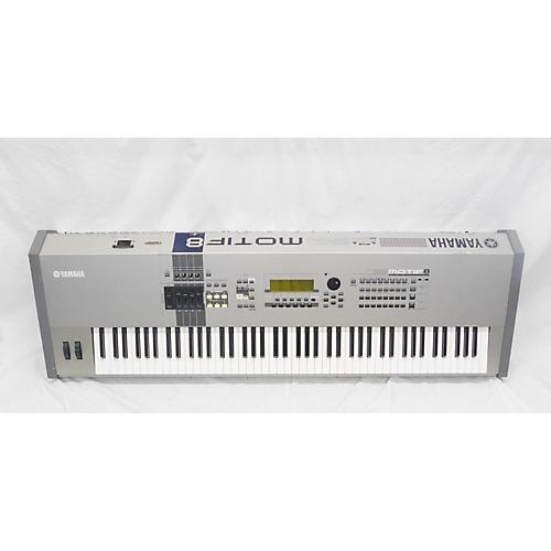 used yamaha motif 8 88 key keyboard workstation guitar center. Black Bedroom Furniture Sets. Home Design Ideas