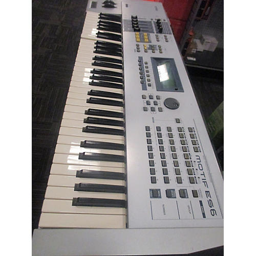 Yamaha Motif ES6 61 Key (BROKEN KEYS) AS-IS Keyboard Workstation-thumbnail