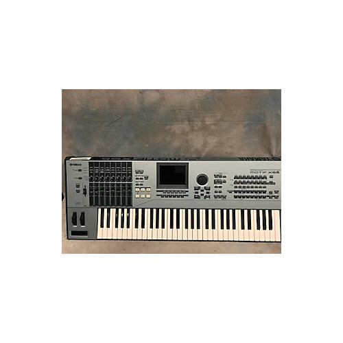 Yamaha Motif ES6 61 Key Keyboard Workstation
