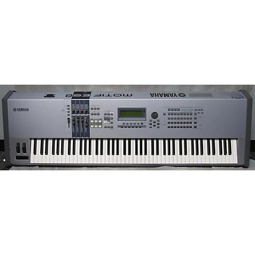 Used yamaha motif es8 keyboard workstation guitar center for Yamaha motif keyboard