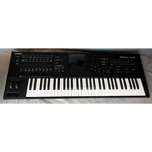 Yamaha Motif XF6 61 Key Keyboard Workstation-thumbnail