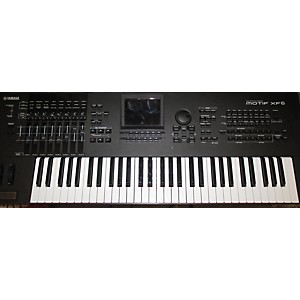 Pre-owned Yamaha Motif XF6 61 Key Keyboard Workstation
