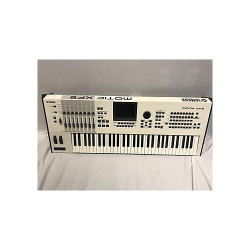 Yamaha Motif XF6 61 Key Keyboard Workstation