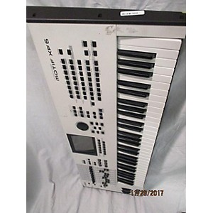Pre-owned Yamaha Motif XF6 61 Key Keyboard Workstation by Yamaha