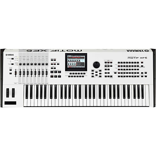 Yamaha Motif XF6 White 61-Key Workstation