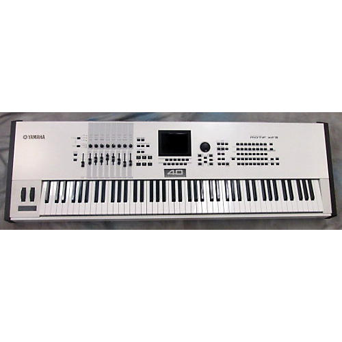Yamaha Motif XF8 88 Key Limited Edition White Keyboard Workstation-thumbnail