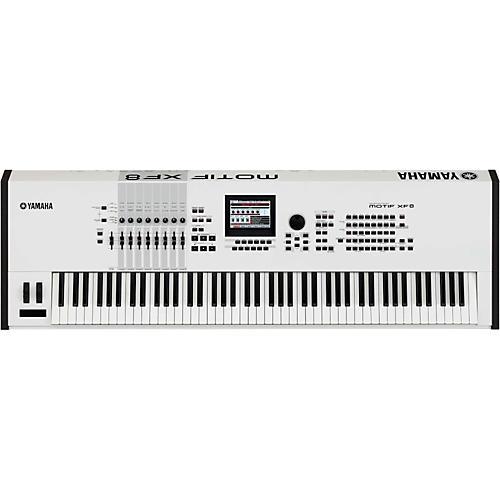 Yamaha Motif XF8 White 88-Key Workstation
