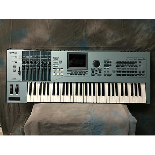 Yamaha Motif XS6 61 Key Keyboard Workstation