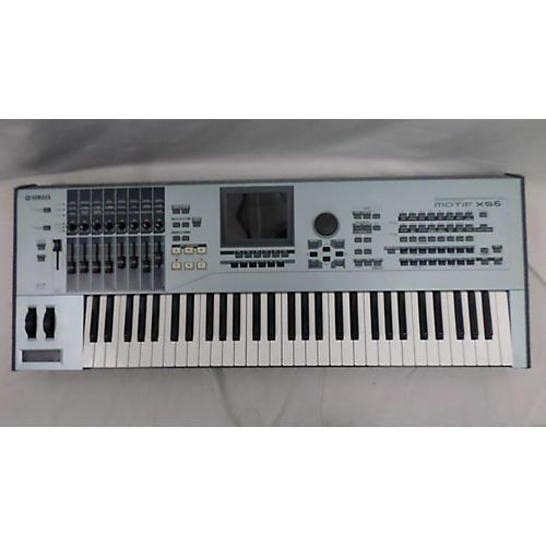 Used yamaha motif xs6 61 key keyboard workstation guitar for Yamaha motif keyboard
