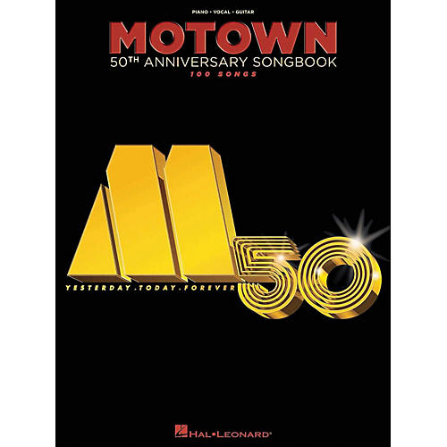 Hal Leonard Motown 50th Anniversary Songbook arranged for piano, vocal, and guitar (P/V/G)-thumbnail