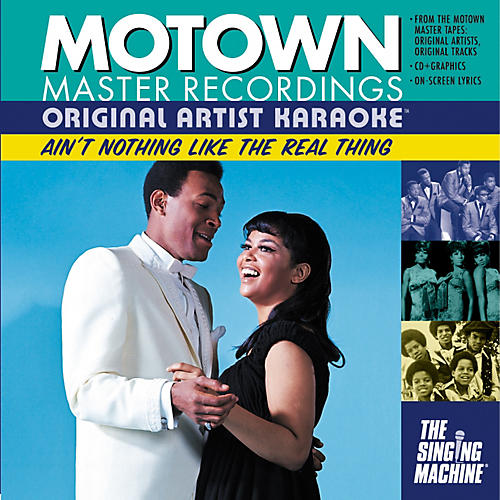 The Singing Machine Motown Ain't Nothing Like The Real Thing Karaoke CD+G