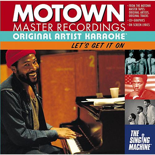 The Singing Machine Motown Let's Get It On Karaoke CD+G-thumbnail