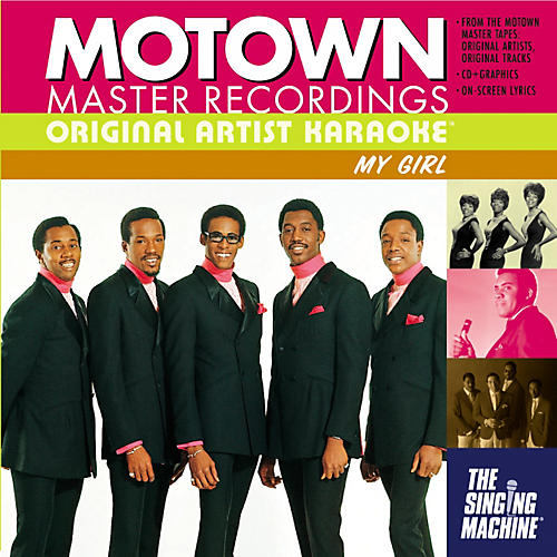 The Singing Machine Motown My Girl Karaoke CD+G-thumbnail