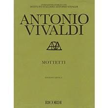 Ricordi Mottetti (Motets) Study Score Series Composed by Antonio Vivaldi Edited by Paul Everett