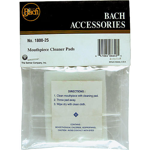 Bach Mouthpiece Cleaning Pads-thumbnail