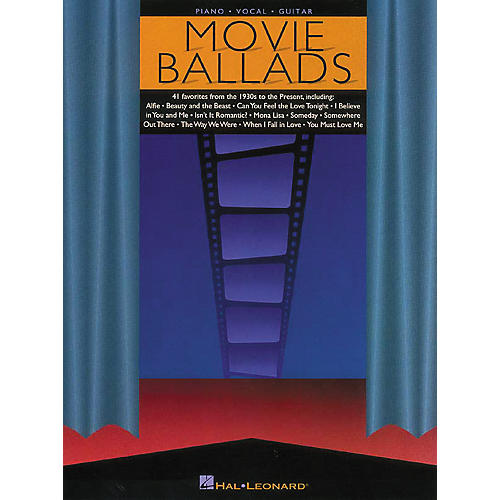 Hal Leonard Movie Ballads Piano, Vocal, Guitar Songbook